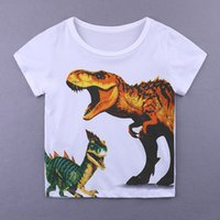 Wholesale kid cool clothes for sale - New fashion children t shirts cool cartoon Print Kids Baby Boy Tops Short Sleeve T Shirt Summer Tee boy clothing