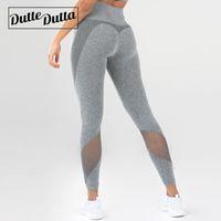 vêtements de sport spandex achat en gros de-Sports Wear Moto Mesh Yoga Pantalon Pour Femmes Taille Haute Legging Fitness Vêtements Femme Fitness Leggins Sport Gym Leggings Collants