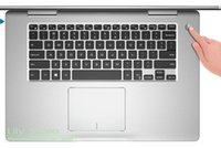 capas de laptop de 15 polegadas venda por atacado-15 polegada de silicone protetor de teclado laptop pele para inspiron 15 7000 series 7568 7560 7570 2 em 1 notebook pc 15.6 2017