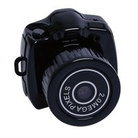 mini dv pouce achat en gros de-2018 Date Y2000 Mini Caméra Kit DV Caméscope Numérique Enregistreur Micro DVR Caméra Vidéo HD Webcam Petit Thumb Caméra w / Keychain