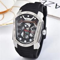 ingrosso guarda super cool-Phantom orologio da uomo di lusso di marca combattente super cool Phantom Watch 42 millimetri lama anteriore Warrior quarzo top uomini di marca Guarda orologi di lusso