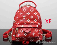 aaa rucksack großhandel-AAA Qualität Freies Verschiffen 2018 Luxus Frauen Rucksack Männer Tasche Berühmte Rucksack Designer Männer Rucksack Frauen Reisetasche Rucksack