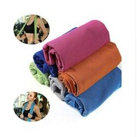 Wholesale makeup towel resale online - Makeup face towel Running Jogging Gym Chilly Pad sweat ice Outdoor Sports cool towel DHL