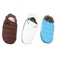 Wholesale Thicken Baby Sleeping Bag - 2017 winter baby sleeping bag for stroller thicken cotton envelope sleep bag baby girls sleepsacks bolsa infantil menina