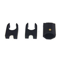 Discount block clamp - screw clamp terminal block F16135 16MM Carbon Fiber Tube Folding Mounting Base Group  Black w  Screws for Multicopter Folding Quadcopter