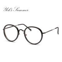 27746bd8c4cd1 10% Off. CAD  14.68. Cubojue Small Round Glasses Men Women Eyeglasses Frame  for Male Diopter Myopia Female Nerd Points Prescription Optical Spectacle