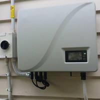 inversor de la red de energía solar al por mayor-Inversor de energía solar de 5KW (5000W) Onda sinusoidal pura en red, dos MPPT, IP 65, 5 años de garantía