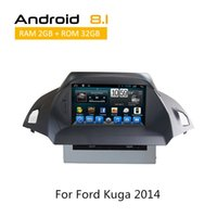Wholesale build car console online - 2 Din Touch Screen Car Dvd Player for Ford Kuga European version Russian with GPS TV Can Bus