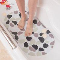 Wholesale Colorful Floor Mats - 39cmx69cm Cartoon Colorful PVC Non Slip Bath Mat Home Bathroom Shower Bathtub Floor Safety Massage Mat Pad