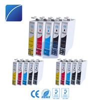 Wholesale compatible ink epson - 15 PCS ink cartridges T1281 T1282 T1283 T1284 T1285 Compatible for Epson SX125 SX130 SX230 SX235W SX420 SX425 Printer