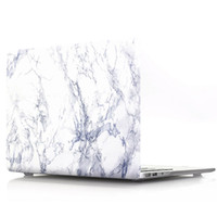 laptop netbook de china al por mayor-Marble Pattern Macbook Laptop Netbook Funda de goma frontal + trasera para PC con tapa dura para 11.6 Air 13 13.3 15.4 Pro Retina