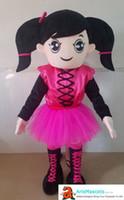 ingrosso costumi da cartone animato-costume della mascotte della gente della mascotte della ragazza della mascotte sveglia costume divertente della mascotte per i costumi del personaggio dei cartoni animati di vendita per la mascotte della mascotte del partito di compleanno