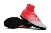 ingrosso le migliori borse in pelle-2018 Copa 17.1 FG Mens scarpe da calcio all'aperto economici alti tacchetti da calcio in vera pelle Scarpe da calcio di qualità migliore