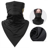 Wholesale breathable face mask for sale - Absorb Sweat Ice Scarves Bicycle Bandana Breathable Magic Headscarf Hiking Camping Neck Gaiter Running Cycling Men Face Mask lk bbWW
