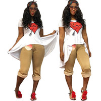 Wholesale work suits dresses - TS813 New Pattern Suit-dress Leisure Time Printing Irregular Lotus Leaf Pendulum T Pity