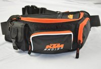 Wholesale Waist Pack Motorcycle - Free Shipping KTM motorcycle Waterproof Tank Bag off-road motorcycle racing waist pack messenger bag multifunctional Tool bags