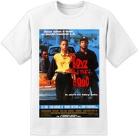 Wholesale free movie posters resale online - Details zu BOYZ N THE HOOD MOVIE POSTER T SHIRT Menace To Society Compton NWA Dre Ice Cube Funny Unisex Casual gift