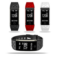 Wholesale tw64 smart band fitness tracker for sale – best Dynamic Heart Rate S2 Smartband Fitness Tracker Step Counter Smart Watch Band Vibration Wristband for ios android pk ID107 fitbit tw64 DHL