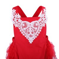 шифон платье для малышей оптовых-Baby Girl Clothes Toddler Infant Kids Chiffon Irregular Lace Sleeveless Dress Baby kid girl lace sleeveless dress