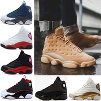 Wholesale Cheap Christmas Boxes - With box Top Quality Cheap 13 13s Altitude Wheat Bred DMP Chicago mens basketball shoes sneakers Sports trainers for men designer Size 8-13