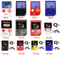 Wholesale fedex games for free resale online - CoolBaby NES Mini Handheld Game Console RS TY TY with Inch LCD Game Player For FC retail box DHL FEDEX