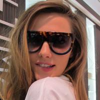 ingrosso gli occhi dell'arco-Fashion Cat Eye Bow Street Shoot occhiali da sole e occhiali da sole sportivi retrò da donna Trend occhiali da sole Big Frame