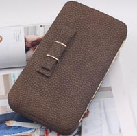 Wholesale pink sand bag for sale - Group buy Buttercup lady s wallet women s wallet long sanding clasp bag