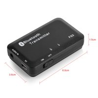 Wholesale pc tv wireless adapter resale online - Bluetooth Audio Transmitter Receiver Wireless Stereo Adapter for TV PC MP3
