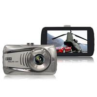 lente de zoom de vídeo al por mayor-Novatek coche DVR cámara digital de conducción dashcam vehículo grabadora de video 3