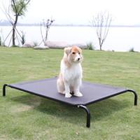 Wholesale pet house beds online - Kennel Removable Summer Poodle Golden Retriever Dog Cat Nest Houses Bed Pet Mattress Supplies No Scaffold Camping Mat qs4 bb