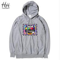 heisenberg hoodie UK - THE COOLMIND fleece male loose syle heisenberg men hoodies cool cotton blend breaking bad printed men sweatshirts 2018