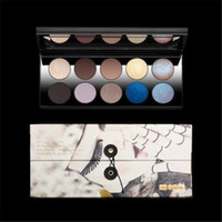 Wholesale Pats Light - 2017 PAT MCGRATH LABS Mothership I II & III Eyeshadow Palette 10 Shades Subliminal Sublime Subversive Eye Shadow Long-lasting