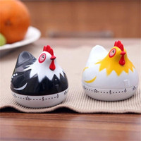 Wholesale clock timers for sale - Group buy Cute Hens Shape Timer Minutes Countdown Cooking Tool Creative Kitchen Mechanical Alarm Clock Multi Color yy C R