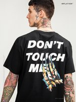 Wholesale new shirts patterns for men - 2018 New Short Sleeve T Shirt for Men High Quality Summer Street Style Loose Tees Cat Pattern Casual Tops