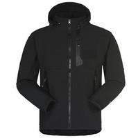 ingrosso giacca softshell-Gli uomini impermeabili traspiranti Softshell Jacket uomini all'aperto sport cappotti donna sci escursionismo antivento invernale Outwear Soft Shell giacca da trekking uomo