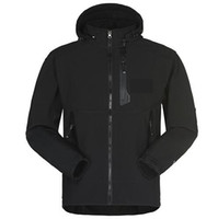 зимние спортивные куртки для мужчин оптовых-Мужчины водонепроницаемый дышащий Softshell куртка мужчины на открытом воздухе спорт пальто женщины лыжный туризм ветрозащитный зима верхняя одежда мягкая оболочка мужчины туризм куртка