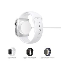 Wholesale feet watch - Wireless Charger for iWatch Series1 USB MFi Certified Magnetic iWatch Charging Cable feet meter for Apple Watch Charger For IFANS