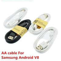 Wholesale galaxy best price online - High quality Micro V8 USB Cable M FT Sync Data Cable for samsung Galaxy S4 S5 Note Note Android smart phone factory best price