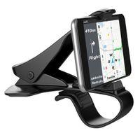 cep telefonu standını tasarla toptan satış-Evrensel araba dashboard tutucu standı hud tasarım klip smartphone araç tutucu cep telefonu aksesuarları cep telefonu standı