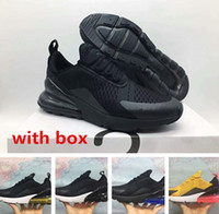 Wholesale dark tiger - 270 tiger cactus triple Black running shoes sneaker trainer sports shoes size 36-45 free shipping with box