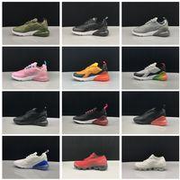 buy online 1b917 82d77 2018 NIKE AIR Vapormax 270 enfants chaussures de course noir blanc Dusty  Cactus en plein air Air enfant en bas âge garçons athlétiques filles Enfants  ...