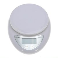 Wholesale kitchen digital electronic scales resale online - 5000g g Kitchen Food Electronic Portable Weight Digital pocket Scale kg WH B05