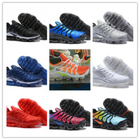 Wholesale light up shoes for adults - 2018 Hot Sale Breathable Light Spring Summer Casual Running Male Mesh Shoes For Men PLUS TN ULTRA TN2018 Adult Walking Footwear Shoes SIZE 4