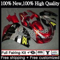 обтекатели для 99 gsxr оптовых-Тело красное GSXR-600 для Suzuki GSXR600 SRAD 96 97 98 99 00 GSXR-600 5XH54 GSXR 600 750 GSXR750 1996 1997 1998 1999 2000 обтекателя кузова
