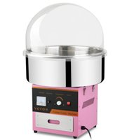 Wholesale Carnival Candy - New Electric Cotton Candy Machine Pink Floss Carnival Commercial Maker Party [Cotton Candy Machine with Cover LLFA