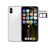 android chinese fernseher großhandel-Goophone Xplus XS max 6,5-Zoll-1G / 16G-Viererkabelkern MTK6580 Phone kann gefälschte 4G / 128G-Dual-SIM-Smartphones anzeigen
