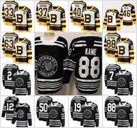 ingrosso maglia classica invernale di blackhawks-New Winter Classic Chicago Blackhawks Boston Bruins Toews DeBrincat Patrick Kane Seabrook Crawford Pastrnak Bergeron Marchand maglia da hockey