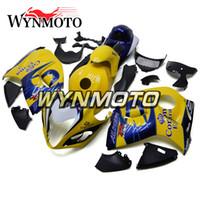 sarı siyah hayabusa fairing toptan satış-Suzuki GSXR1300 Hayabusa 2008-2016 Için tamamlandı Fairings 12 13 14 15 Enjeksiyon ABS Plastik Gövde Kiti Motosiklet Fairing Kapak Sarı Siyah
