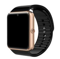 Wholesale Original Smart Watch GT08 Clock Sim Card Push Message Bluetooth Connectivity For Android IOS apple Phone PK Q18 DZ09 Smartwatch