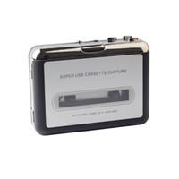 lecteur mp3 cassette usb achat en gros de-Hot USB Cassette Capture Recorder Radio Lecteur, Cassette PC Super Cassette USB Portable au convertisseur MP3